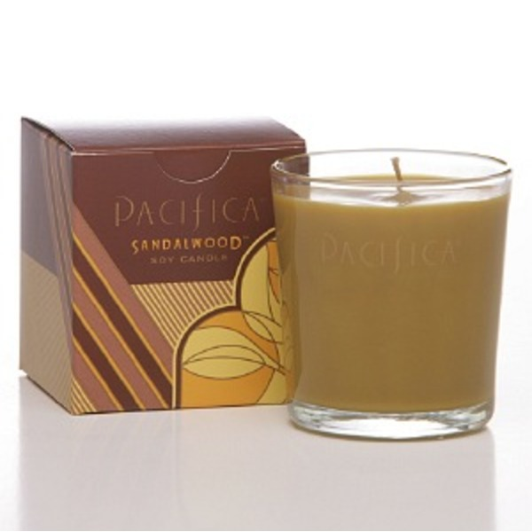 Pacifica Sandalwood Candle