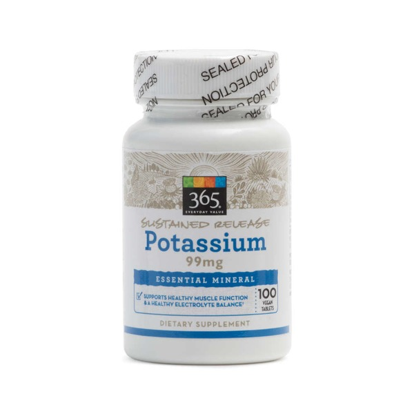 Whole Foods Market Potassium 99mg