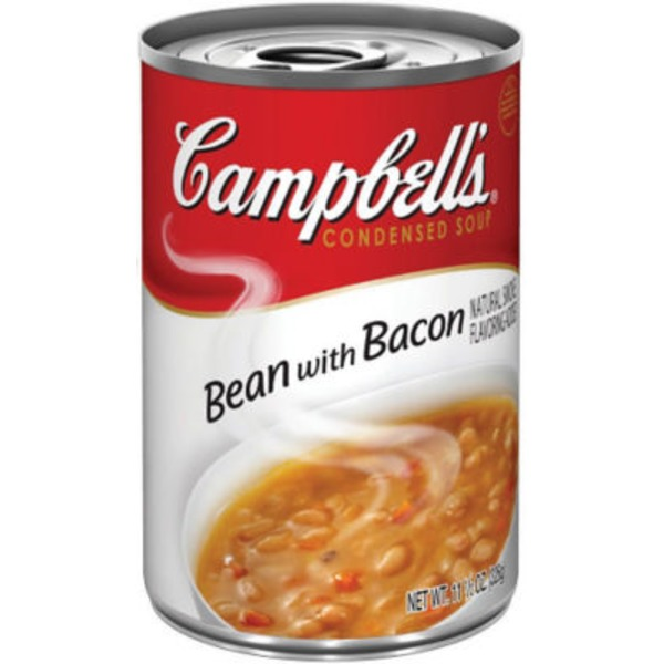 Campbell's Bean W/Bacon R&W Condensed Soup