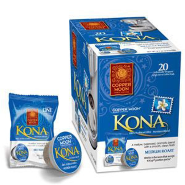 Copper Moon Kona Blend Aroma Medium Roast Single Serve Coffee