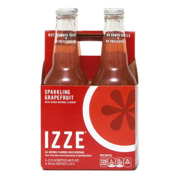 Izze Sparkling Grapefruit Juice Beverage