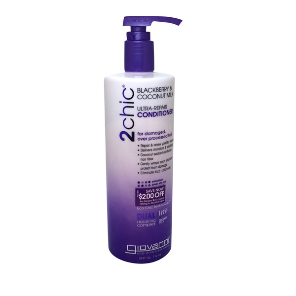 Giovanni 2 Chic Blackberry & Coconut Ultra-Repair Conditioner
