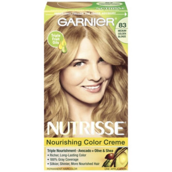 Nutrisse® 83 Medium Golden Blonde (Cream Soda) Nourishing Color Creme