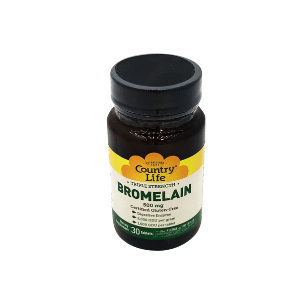 Country Life Bromelain 500mg