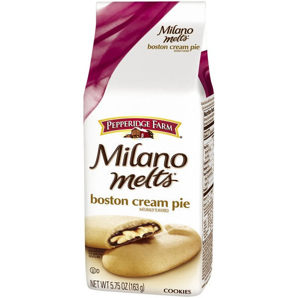Pepperidge Farm Cookies Milano Melts Boston Cream Pie Cookies