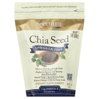 Spectrum Essentials Whole Chia Seeds Omega 3 & Fiber