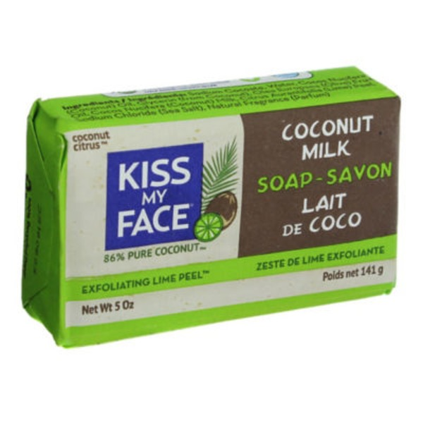Kiss My Face Coconut Milk Soap with Lime Peel