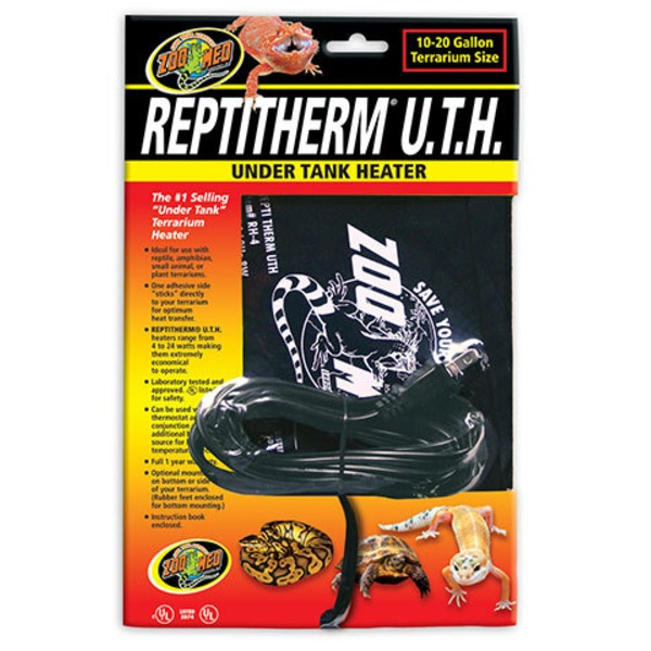 Zoo Med Reptitherm U.T.H Under Tank Heater