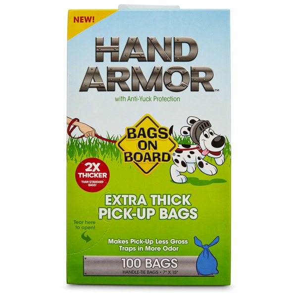 Bag 100 Ct Hand Armor Pu Bags