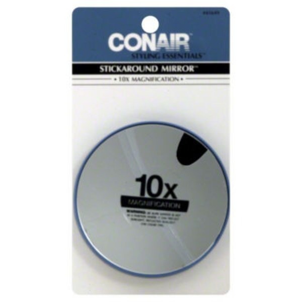 Conair 10x Magnification Stickaround Mirror