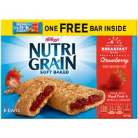 Kellogg's Soft Baked Strawberry Breakfast Bars