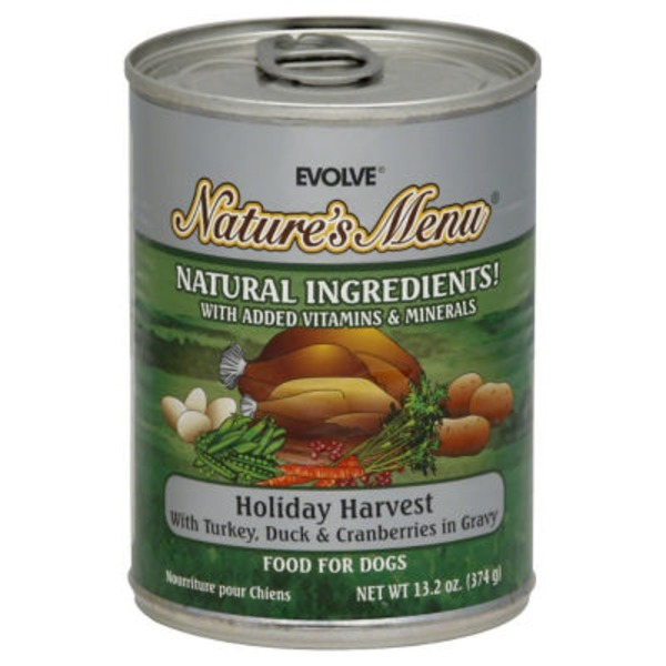Evolve Holiday Harvest Food For Dogs