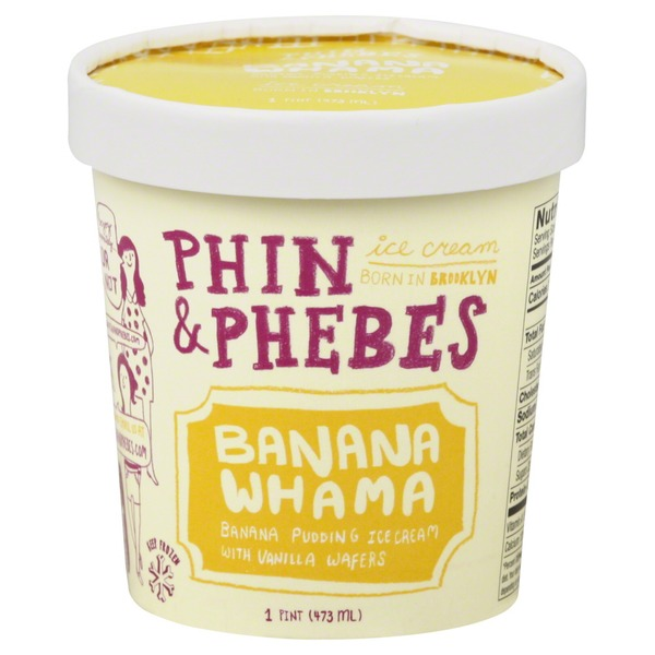 Phin & Phebes Ice Cream, Banana Whama