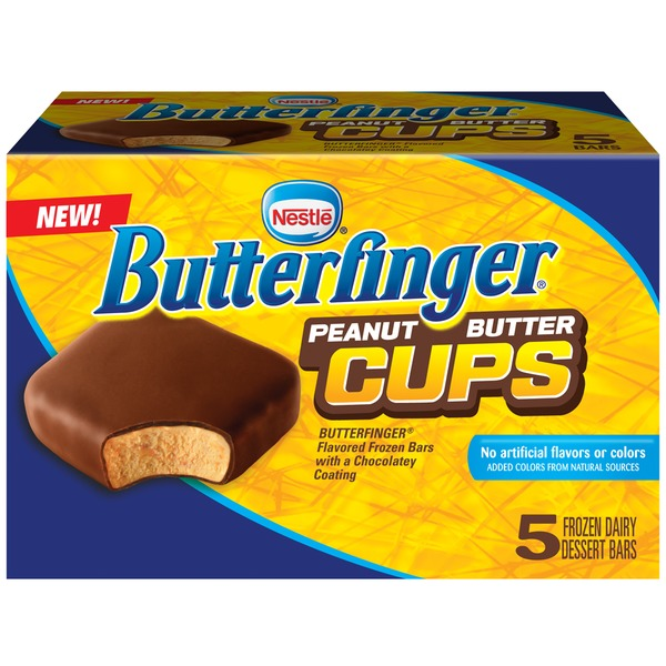 Nestle Butterfinger Cups Frozen Dairy Dessert Snacks