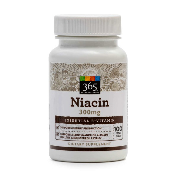 365 Niacin Vegan Tablets 300 mg