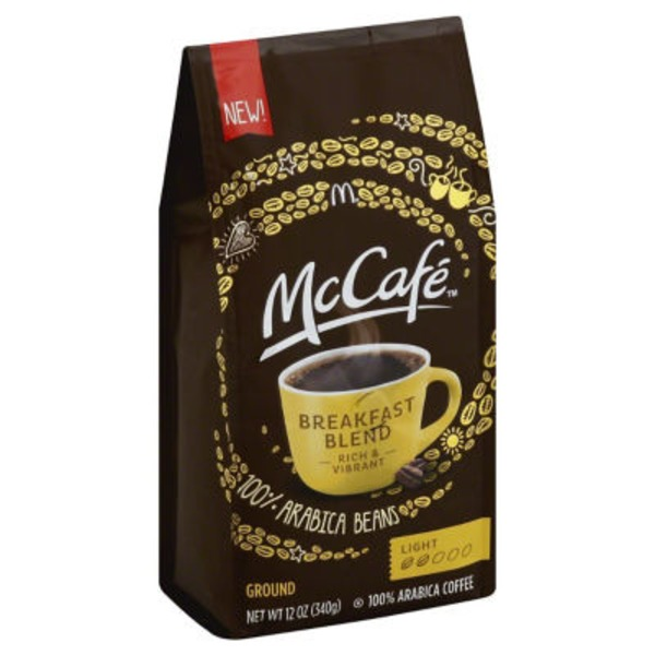 McCafe Breakfast Blend Ground Coffee