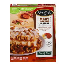 Stouffer's Meat Lovers Lasagna, 34.0 OZ
