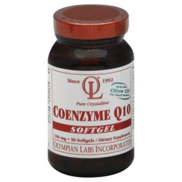 Olympian Labs CoQ10 100 mg Softgels
