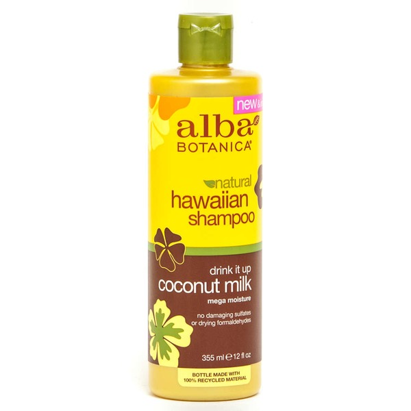 Alba Botanica Natural Hawaiian Shampoo Coconut Milk