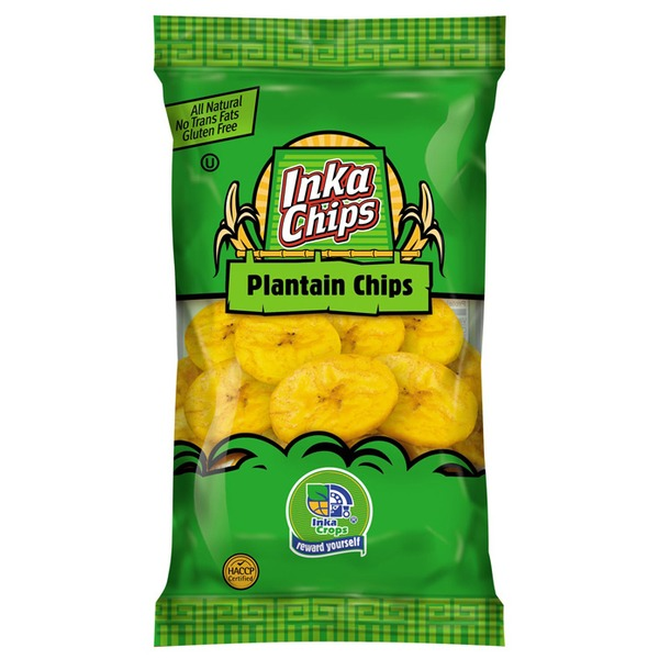 Inka Crops Roasted Plantain Chips 4 Oz