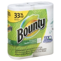 Bounty Paper Towels Big Roll Print