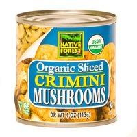 Native Forest Organic Crimini Mushrooms Sliced