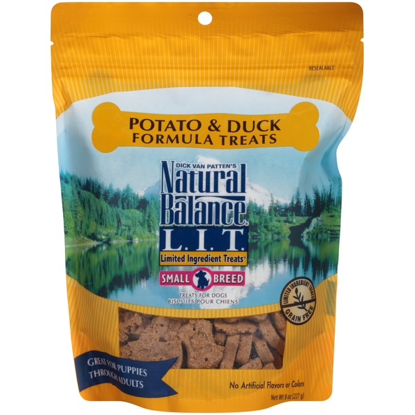 Natural Balance L.I.T Potato and Duck Formula Small Breed Dog Treats