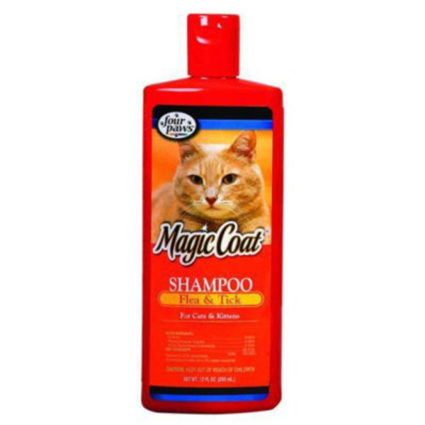 Four Paws Magic Coat Flea & Tick Shampoo For Cats & Kittens