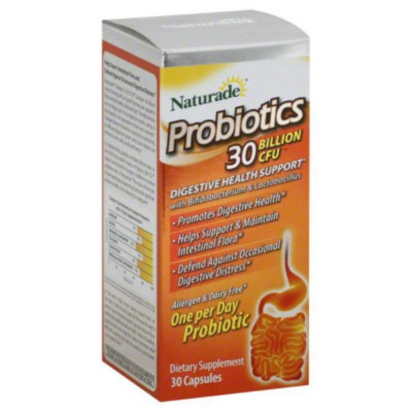 Naturade 30 Billion CFU Probiotics Caplets