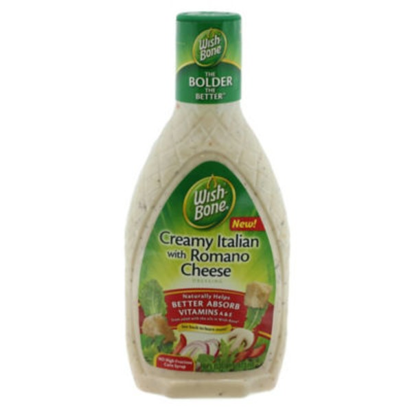 Wish-Bone Creamy Italian with Romano Cheese Dressing