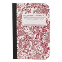 Decomposition Book Notebook Decomposition Pocket Sized Wild Garden