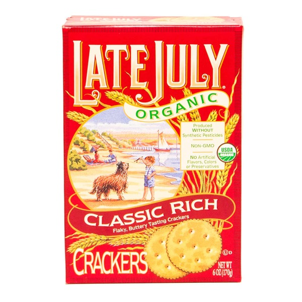 Late July Organic Crackers Classic Rich