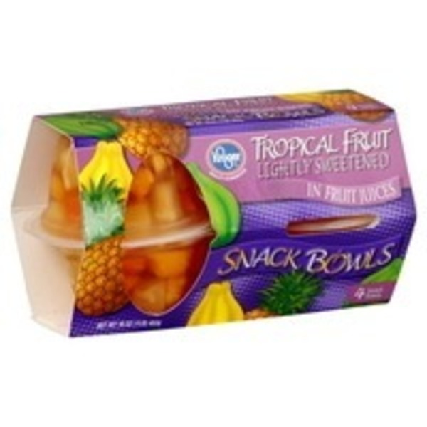 Kroger Tropical Fruit Snack Bowl