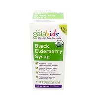 Gaia Herbs Kids Black Elderberry Syrup