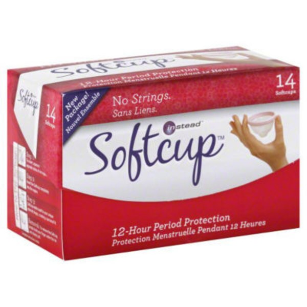 Instead Softcups, 12-Hour Period Protection