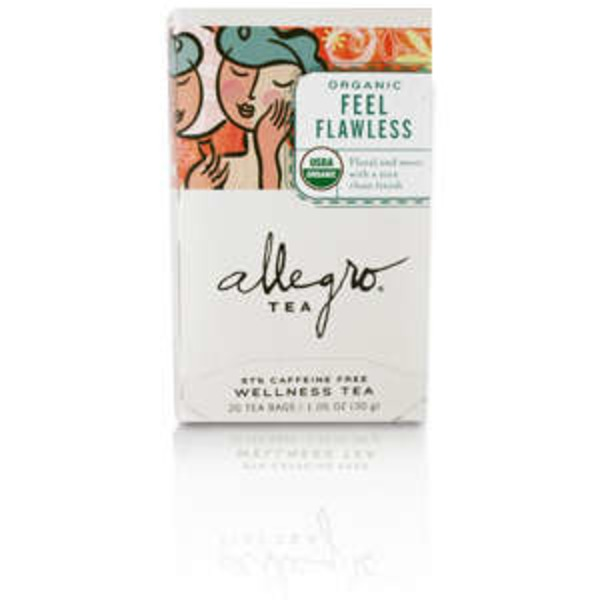 Allegro Organic Feel Flawess Tea