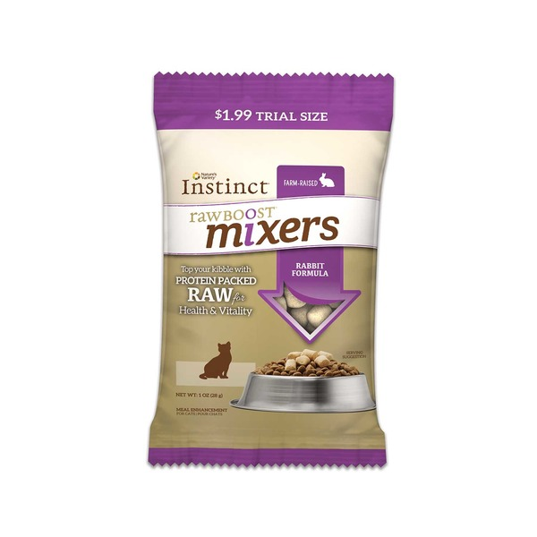 Nature's Variety Instinct Raw Boost Cat Food Rabbit Mixer