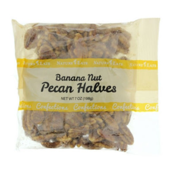 Nature's Eats Banana Nut Pecan Halves