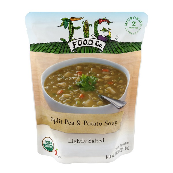 Fig Food Co. Split Pea & Potato Soup Lightly Salted