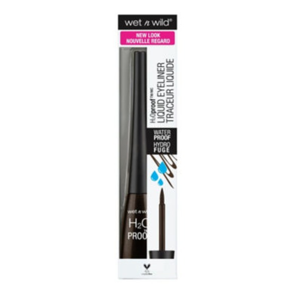 Wet n' Wild H2O Proof Liquid Eyeliner 880 Dark Brown