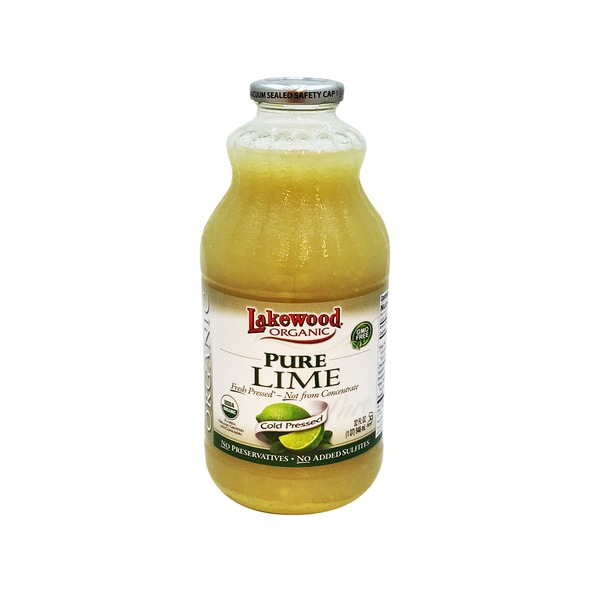 Lakewood Organic Juice Pure Lime
