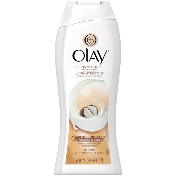 Olay Ultra Moisture Olay Ultra Moisture Coconut Oasis Body Wash 23.6oz Personal Cleansing