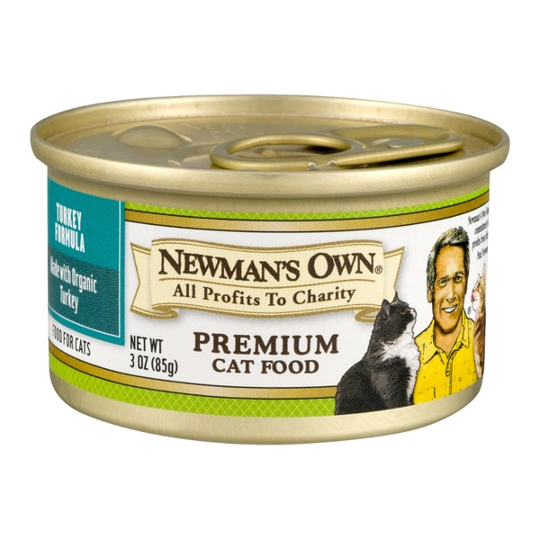 Newman's Own Premium Cat Food Turkey