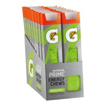 Gatorade Prime Green Apple Energy Chews 1 oz. Pack