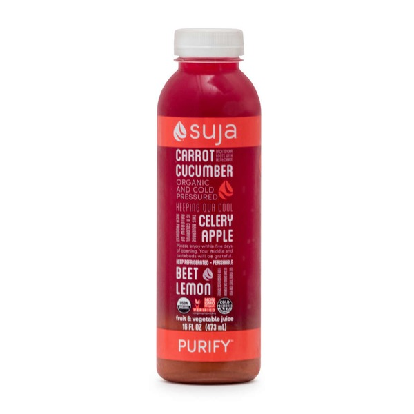 Suja Juice, Vegetable & Fruit, Purify