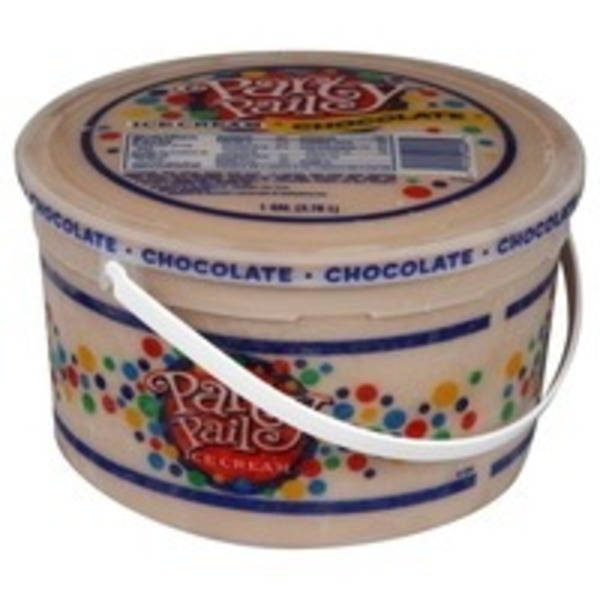 Kroger Party Pail Ice Cream Chocolate