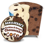 Ben & Jerry's Cookies and Cream Cheesecake Ice Cream