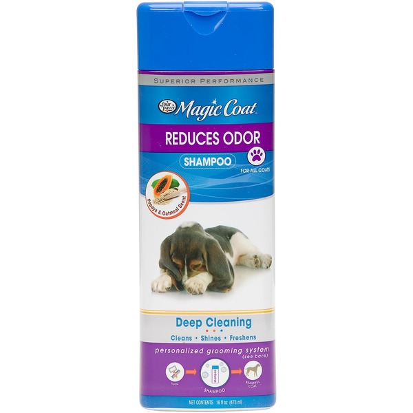 Four Paws Magic Coat Reduces Odor Dog Shampoo