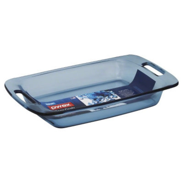 Pyrex Easy Grab 3 Qt Oblong Baking Dish Atlantic Blue