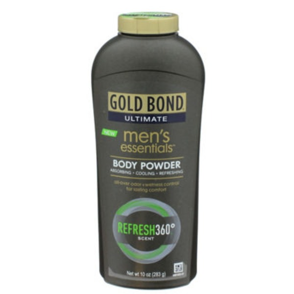 Gold Bond Men's Essentials Body Powder